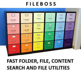 FileBoss Search Folders, Files and Content Fast